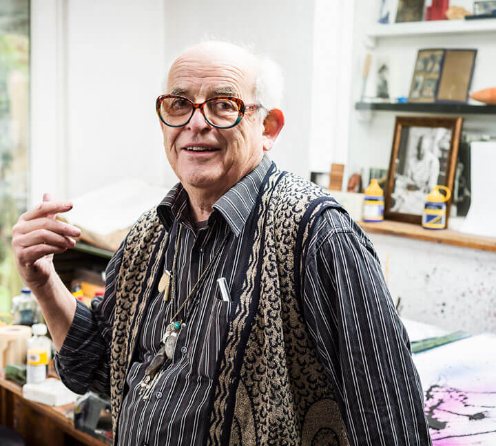 Making a Mark: World-renowned illustrator Ralph Steadman returns to Churchill Downs 49 years after notoriously visiting with Hunter S. Thompson
